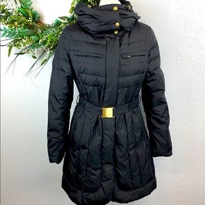 Cole Haan Signature Hooded Puffer Coat